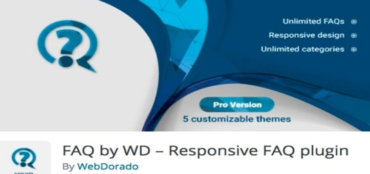FAQ by WD Plugin