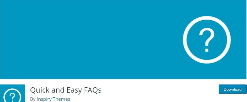 Quick and Easy FAQ Plugin